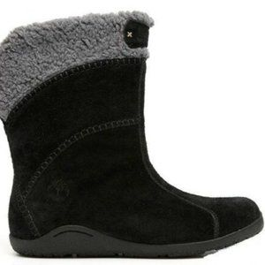Timberland Avebury Ankle Black Suede Boots 10